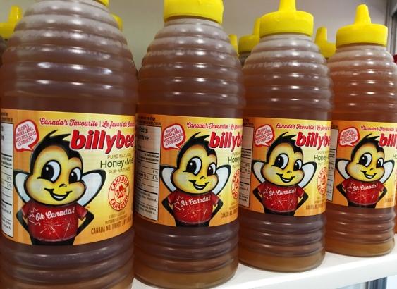 billy bee honey canada 150, canada 150 honey, oh canada honey