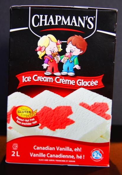 canada eh, chapmans ice cream, canada150